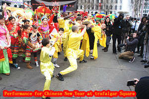 Henglong wushu Performance