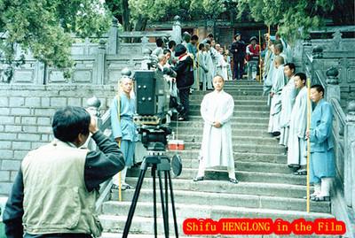 Shifu Henglong in the Kungfu Film